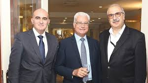 Alexander Demarco Malta Bankers Association Acknowledges Retiring Secretary General