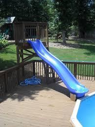 diy pool slide lovely 276 best swimming pool images on of diy pool slide best