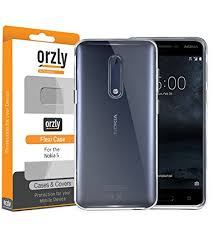 nokia 5 smartphone. nokia5 case, orzly flexicase for the nokia 5 smartphone (2017 model) - protective smartphone