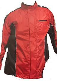 crivit sports men s cycling rain jacket