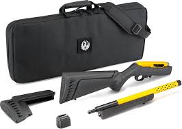 ruger 10 22 takedown lite 22 lr semi auto 16 1 contractor yellow barrel black stock 416 71 free s h on firearms