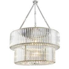 eichholtz infinity double chandelier brass nickel
