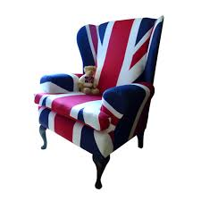 Adorable Union Jack Chair with Lambert Stamp Gallery