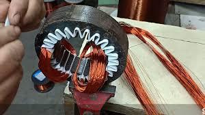 pedestal fan motor winding rewinding