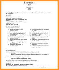 12 13 Clinic Nurse Resume Examples Loginnelkriver Com