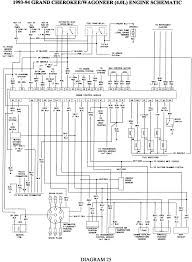 jeep wj wiring schematic jeep wiring diagrams instruction
