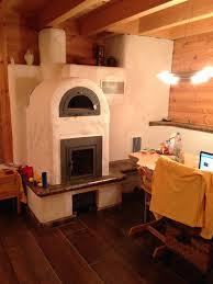 Kachelofen Mit Backfach Einfach Genial Blockhaus