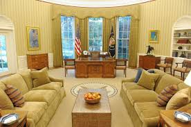 us president office. A General View Of The Oval Office White House, With US President Barack Obama\u0027s Desk Seen In Center, Following Redecoration Washington DC, Us