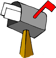 Image result for mailbox clipart
