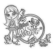 Small Picture Littlest Pet Shop Coloring Pages for Kids Free Printables