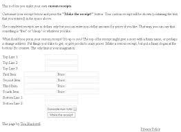 Fake Receipt Maker Free Hotel Receipt Generator Online Template Fake 3 Pepino Co