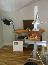 Image Conservatory Art Ive Found That Paintings Produced Under These Conditions Have The Most Satisfying Warmcool Balance At Completion Aristides Atelier Studio Lighting Aristides Atelier