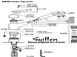 Kitchen Faucet Parts Names Moen Kitchen Faucet Parts Diagram How To Remove Moen Kitchen