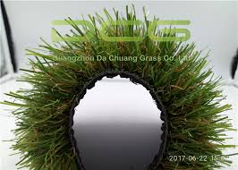 Nature Looking Artificial Grass Landscaping For Home Decor Light Green