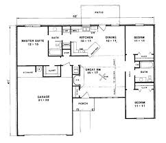 floor plan of a bungalow house charmed manor floor plan 3 bedroom bungalow house designs stunning
