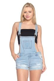 plus size overalls shorts calilogo womens denim jean short overalls regular and plus sizes at