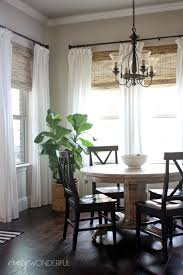 Kitchen Shades 28 Ways To Spruce Up White Curtains Eat In Kitchen Roman Shades
