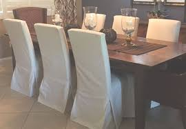 gray parson chair covers