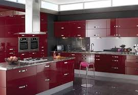 black and red kitchen design. 3 black and red kitchen design e