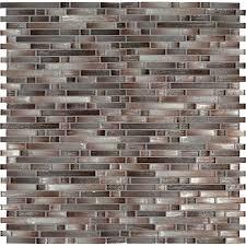 copper mosaic tile copper interlocking mesh mounted glass mosaic tile in gray copper mosaic tiles