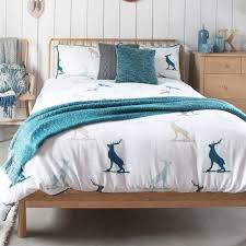 gallery direct stag brushed cotton quilt cover set double cfs uk