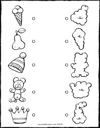 Verbind De Voorwerpen Met De Juiste Wolken Kiddicolour