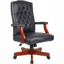 presidential office chair. Image Is Loading TRADITIONAL-CONFERENCE-CHAIR-Black-or-Burgundy-Leather- President- Presidential Office Chair I
