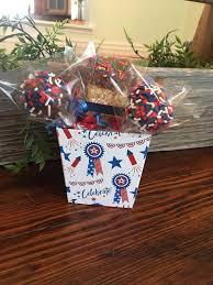 patriotic chocolate gift basket mini gift basket gourmet desserts patriotic gift basket vete