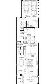 beach house single y home design floor plan wa