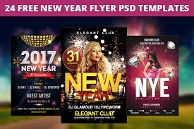 Club Flyers Address 24 Free New Year Party Flyer Psd Templates Designyep