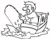 Small Picture Fisherman coloring pages Free Printable Pictures