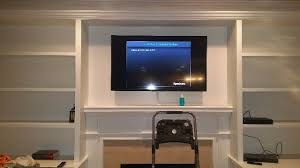 tv mounting above fireplace in charlotte nc