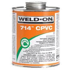 714 Cpvc Weld On