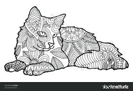 Adult Coloring Pages Cats Zu9x Cat Coloring Pages For Kids Printable