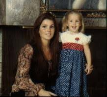 Priscilla and Little Lisa - Priscilla Presley et Lisa Marie Presley photo  (24631798) - fanpop