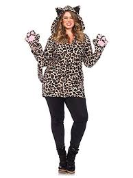 Cozy Wings Size Chart Leg Avenue Womens Plus Size Cozy Leopard Costume