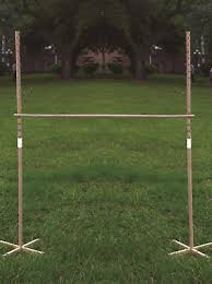 Wooden Limbo Game NEW WOODEN Limbo Classic Game Garden Family Fun Party Summer 47