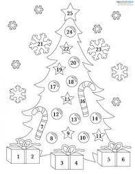 188062 329x425 Printable Advent Calendar 1 free printable numbers for advent calendar,printable free download on house cleaning contract template