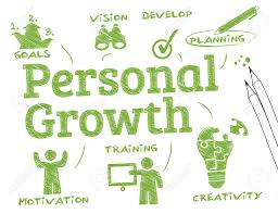 Growth Chart Training Personel Growth Chart With Keywords And Icons