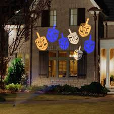 unique christmas lighting. Outdoor Christmas Lights Unique Lighting Options For The Holidays Hanukkah Dreidel