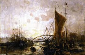 famous painting newtown creek study of charles henry miller