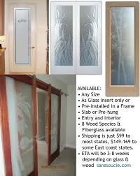 interior glass doors with obscure frosted glass interior doors tropical home office design