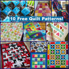 10 Free Quilt Patterns with Summer Color! & 10 free quilt patterns Adamdwight.com