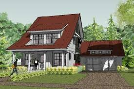 Cottage Home Design  Small House Plan  Bungalow   Bayport CottageClick for pdf