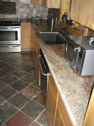 Crema Bordeaux Granite Kitchen Gallery