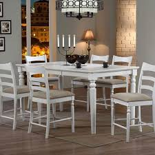 white counter height table. Stonebridge Counter Height Dining Table (Antique White) White