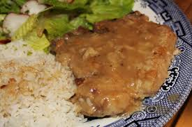 Southern Style Smothered Pork Chops Baked  The Kim Six FixCountry Style Smothered Pork Chops