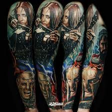 рукав по фильму 300 спартанцев татуировки в ростове на дону