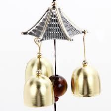 dealing feng shui: sale outdoor copper  bell wind chimes yard garden bells feng shui mascot blessing for family friends