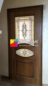 stained glass for doors interior in